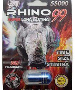 Rhino 99 55000 5 Pill Pack