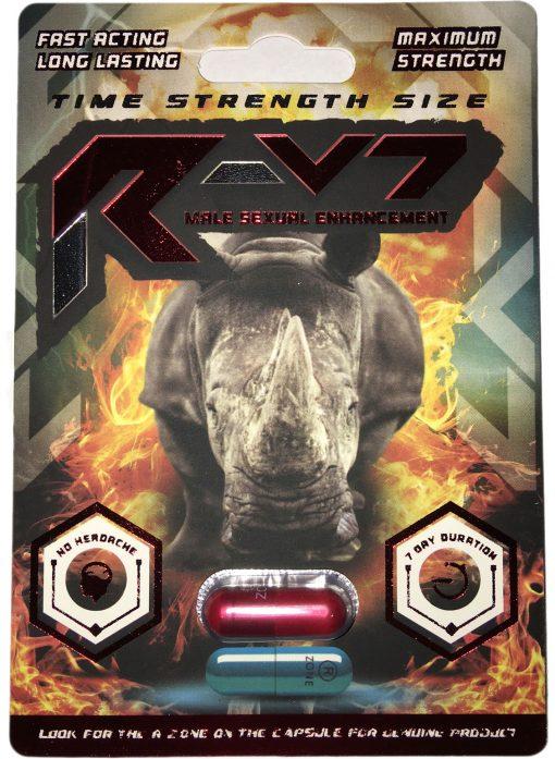 Rhino R-V7 6 Pill Pack