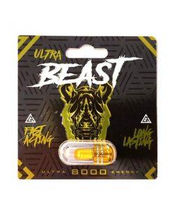 Rhino Ultra Beast 8000 5 Pill Pack