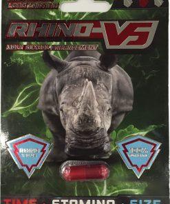 Rhino V5 6 Pill Pack