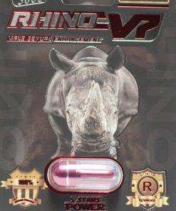 Rhino V7 5000 5 Pill Pack