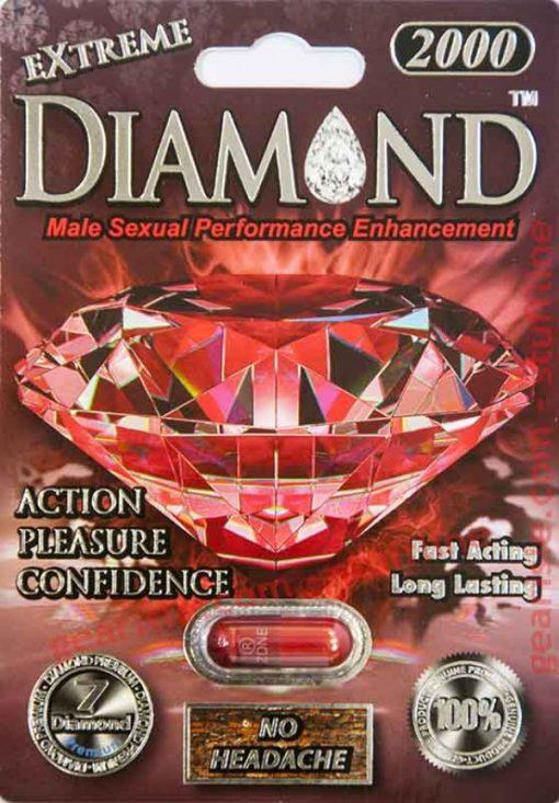 Diamond Extreme 2000 5 Pill Pack
