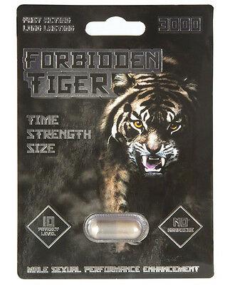 Forbidden Tiger 3000 5 Pill Pack