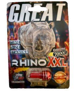 Rhino Great XXL 70000 5 Pill Pack