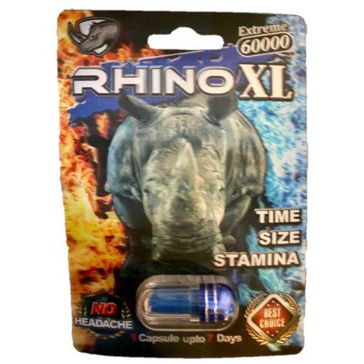 Rhino XL 60000 5 Pill Pack