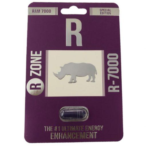 Rhino R Zone Ram 7000 5 Pill Pack