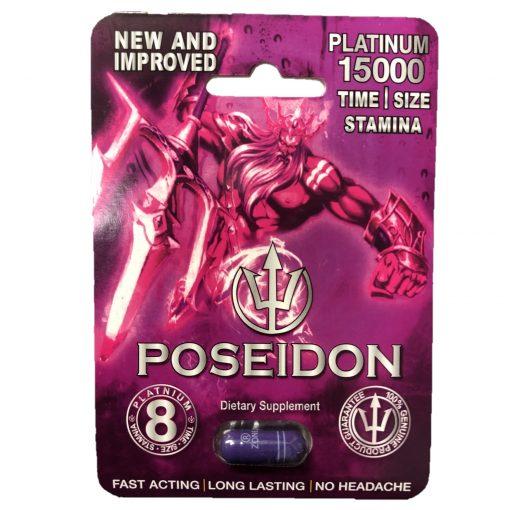 Poseidon Platinum 15000 5 Pill Pack