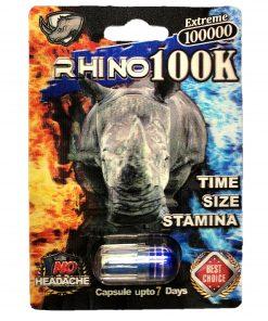 Rhino 100K 100000 5 Pill Pack