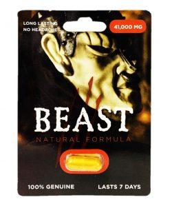 Beast 41000 5 Pill Pack