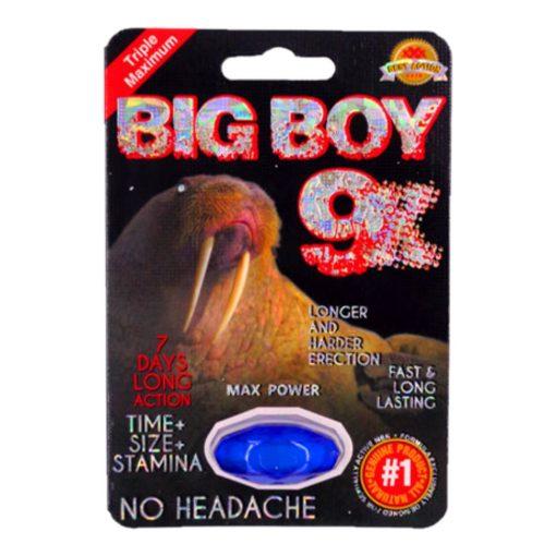 Big Boy 9X 5 Pill Pack