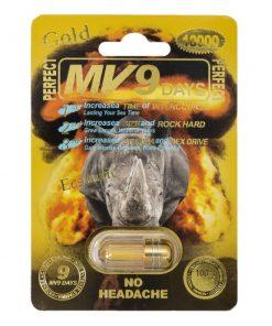 MV9 Gold 10000 5 Pill Pack