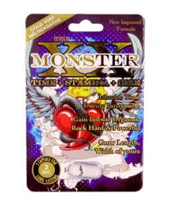 Monster XX 4000 5 Pill Pack