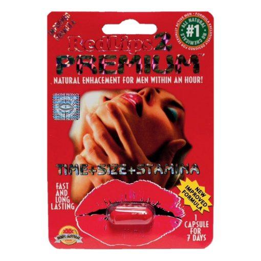 Red Lips 2 Premium 5 Pill Pack