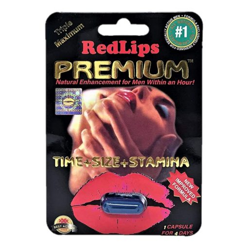 Red Lips Premium 5 Pill Pack
