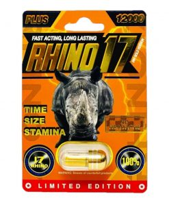 Rhino 17 12000 Plus 5 Pill Pack