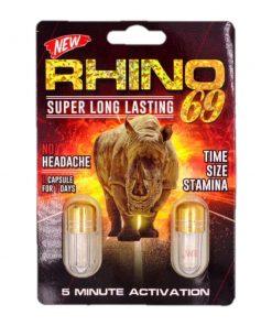 Rhino 69 Double 20 Pill Pack