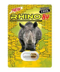 Rhino 89 Green 188K 20 Pill Pack