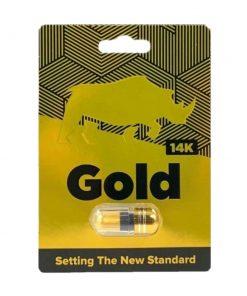 Gold 14K 5 Pill Pack