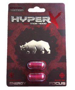 Rhino Hyper X 4000 6 Pill Pack