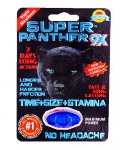 Super Panther 9X 5 Pill Pack