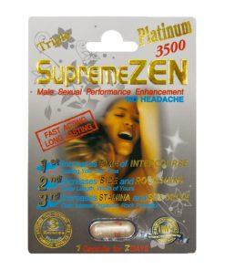 Supreme Zen Platinum 3500 5 Pill Pack