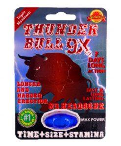 Thunder Bull 9X 5 Pill Pack