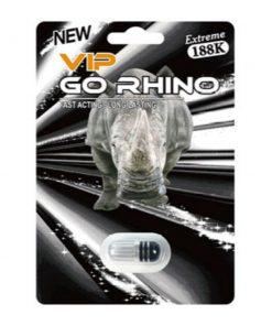 Vip Go Rhino 188K 20 Pill Pack