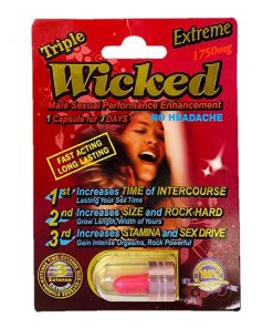 Wicked Extreme 1750 5 Pill Pack