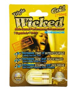 Wicked Gold 1750 5 Pill Pack