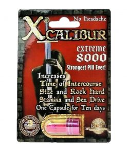Xcalibur Extreme 8000 5 Pill Pack
