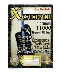 Xcalibur Platinum 11000 5 Pill Pack