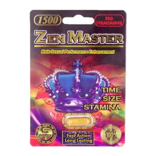 Zen Master 1500 5 Pill Pack