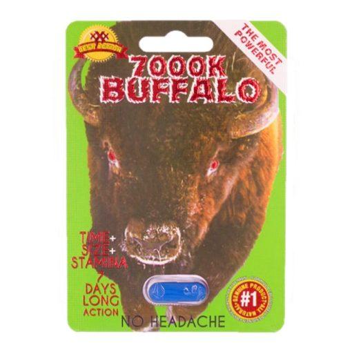 Buffalo 7000K 5 Pill Pack