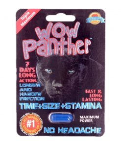Wow Panther 5 Pill Pack