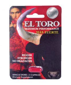 El Toro Mas Fuerte 5 Pill Pack