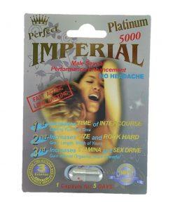 Imperial Platinum 5000 5 Pill Pack