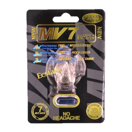 MV7 Black 2000 5 Pill Pack