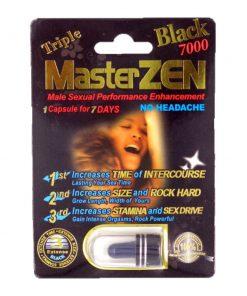Master Zen Black 7000 5 Pill Pack