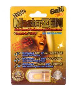Master Zen Gold 7000 5 Pill Pack