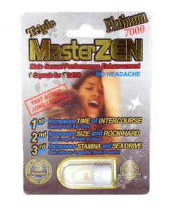 Master Zen Platinum 7000 5 Pill Pack