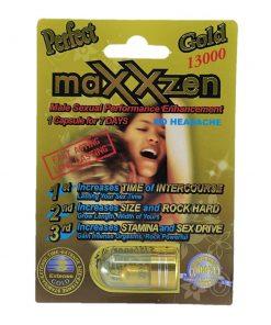 Maxxzen Gold 13000 5 Pill Pack