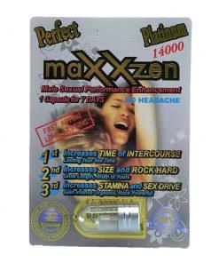 Maxxzen Platinum 14000 5 Pill Pack