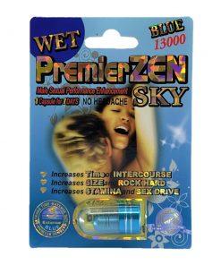 Premier Zen Sky Blue 13000 5 Pill Pack