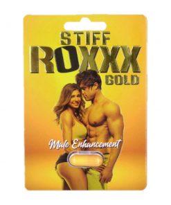 Stiff Roxxx Gold 5 Pill Pack