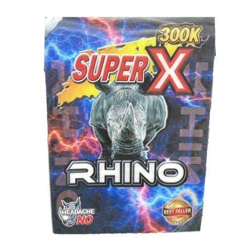 Super X Rhino 300K 5 Pill Pack