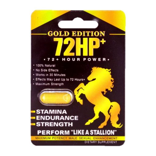 72 HP Gold Edition 5 Pill Pack