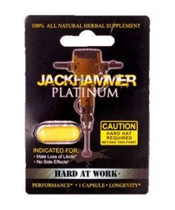 Jackhammer Platinum 5 Pill Pack