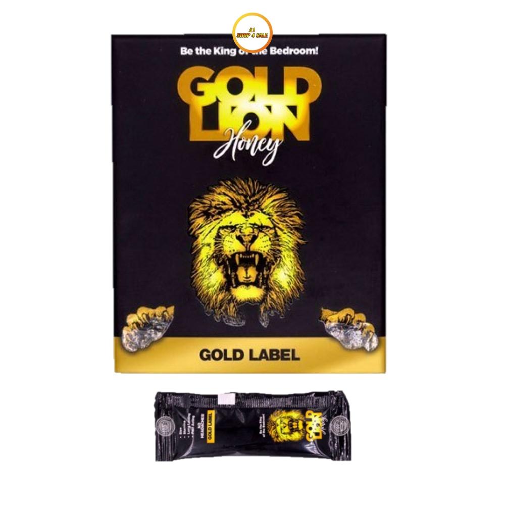 Gold Lion Honey 5 Sachet Pack