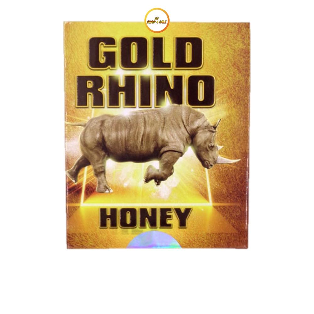 Rhino Gold Honey 5 Sachet Pack