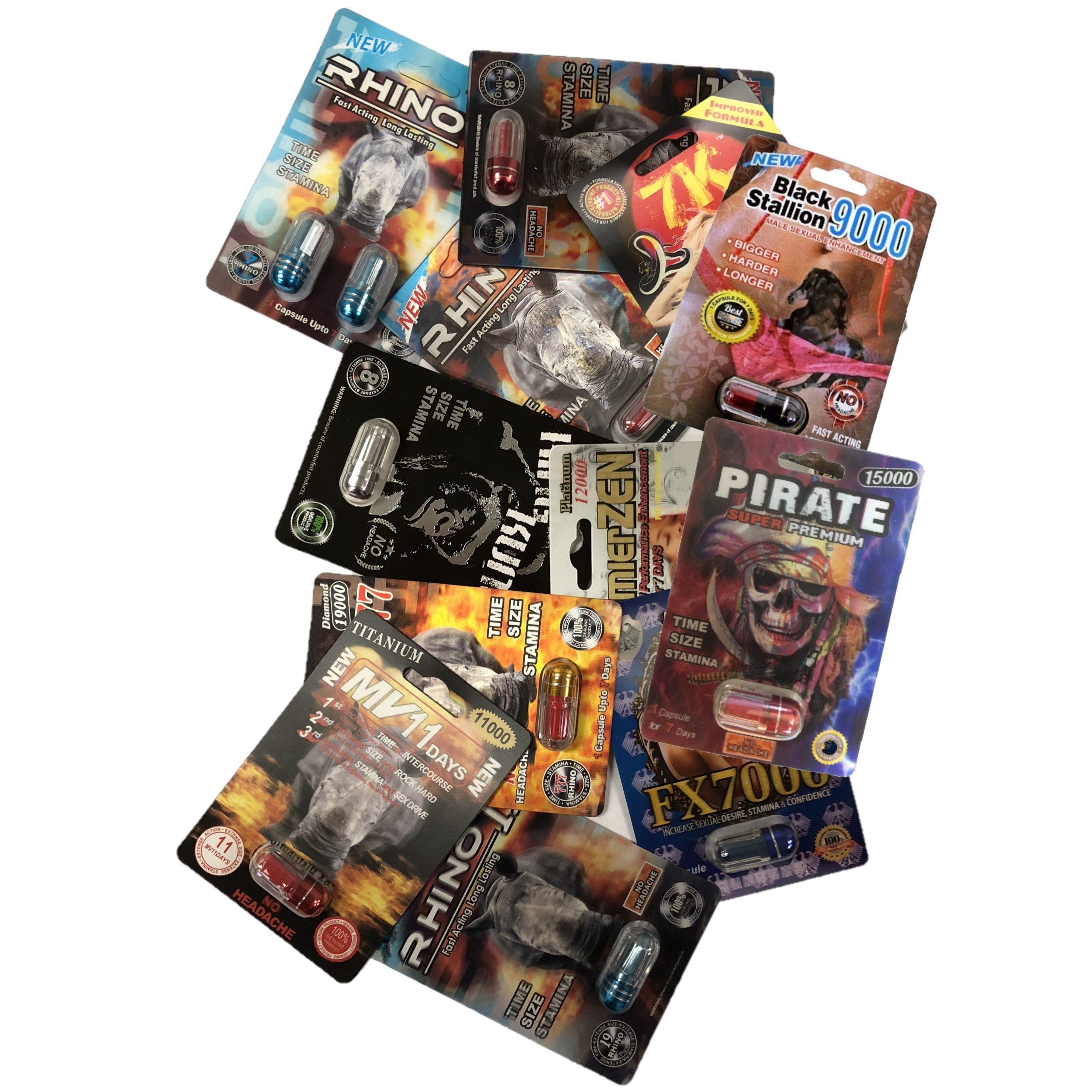 Rhino 6969 99 Platinum & More Variety Mix 24 Pill Pack